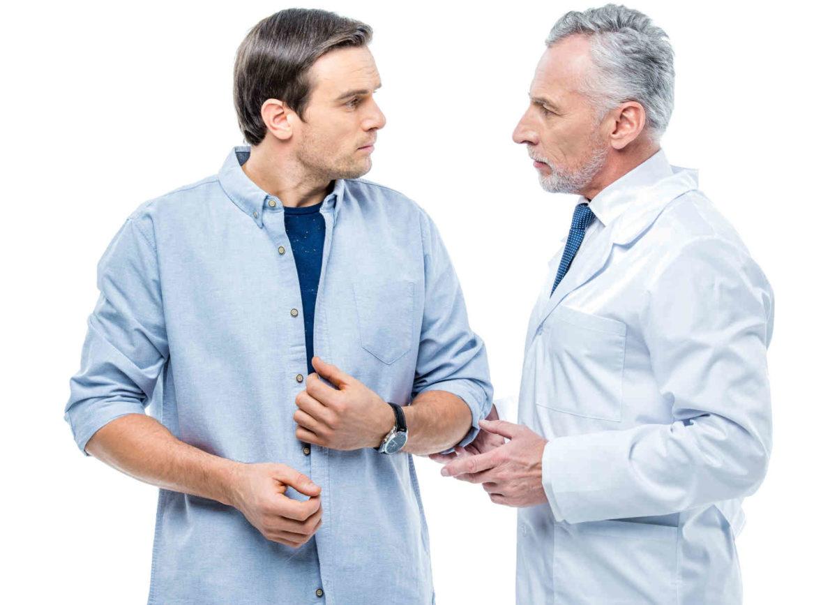 пациент у венеролога